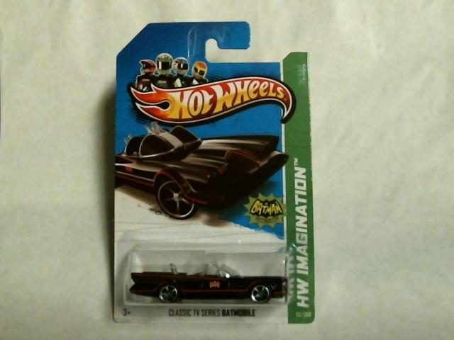 Hot Wheels 2013 Imagination Batman Classic TV Batmobile  62/250 X1710  Adam West