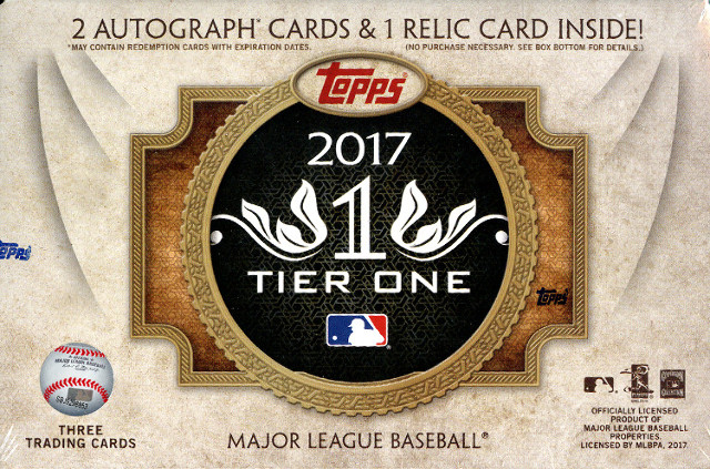 26 Spot 2017 Tier One Baseball Random Letter Break 2