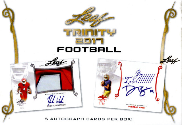 26 Spot 2017 Leaf Trinity Football Random Letter Break 2