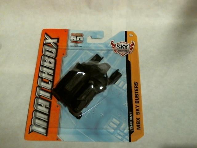 Matchbox 2012 MBX Sky Busters Batman The Bat Dark Knight Rises  W5323 Mattel