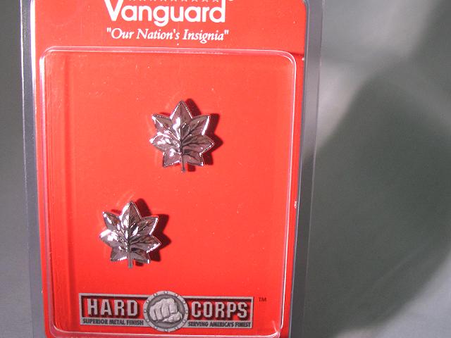 Vanguard USMC Marine Corps Collar Device Lt Colonel
