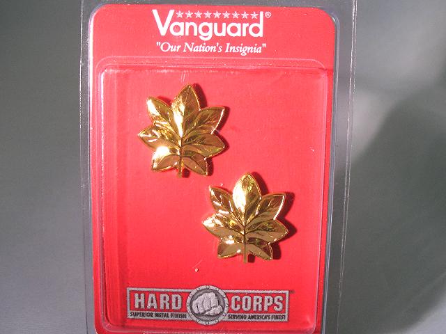 Vanguard USMC Marine Corps Coat Device Major