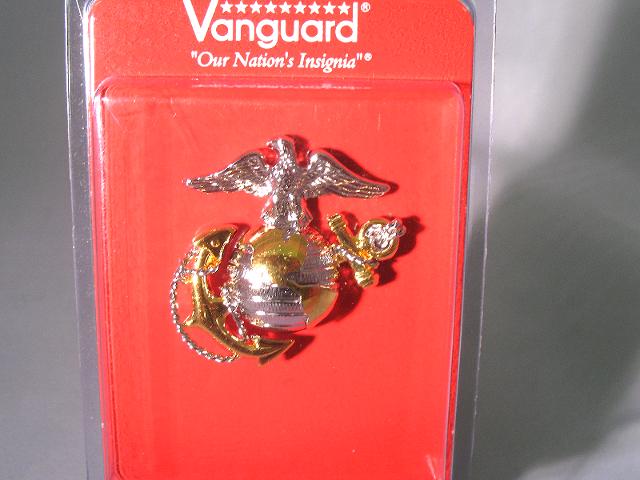 Vanguard Marine Corps USMC Officer Regulation Cap Device (For Dress Cap)