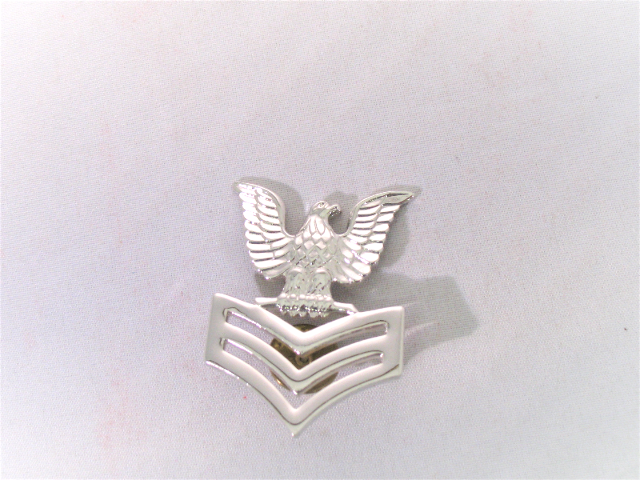US Navy Coat Epaulet Device First Class Petty Officer E6 - 1 Pin