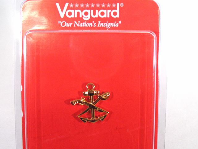 Vanguard US Navy Gold Collar Device Special Warefare Combat Craft Crew-WO SWCC