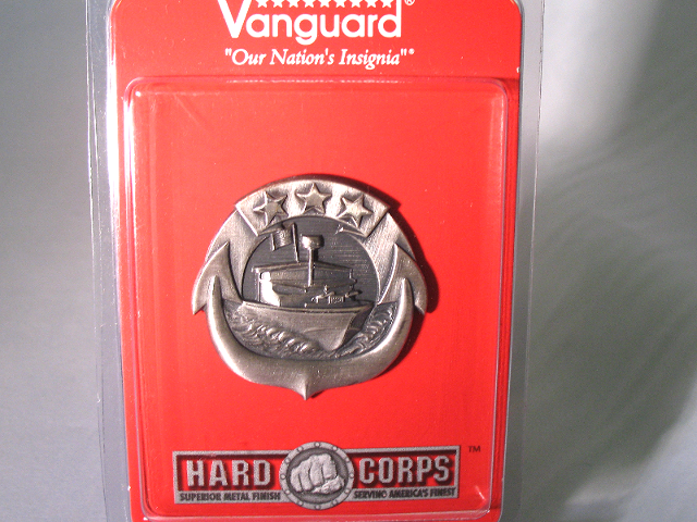 Vanguard Navy Badge Regulation Size Small Craft Enlisted