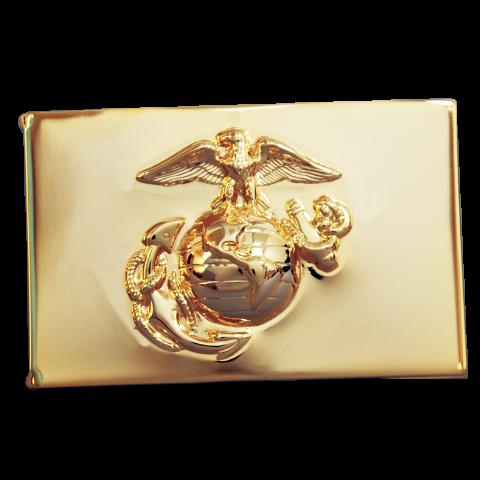 Officers Equipment Co. USMC US Marine Corps NCO Anodized Waistplate Buckle E4 E5