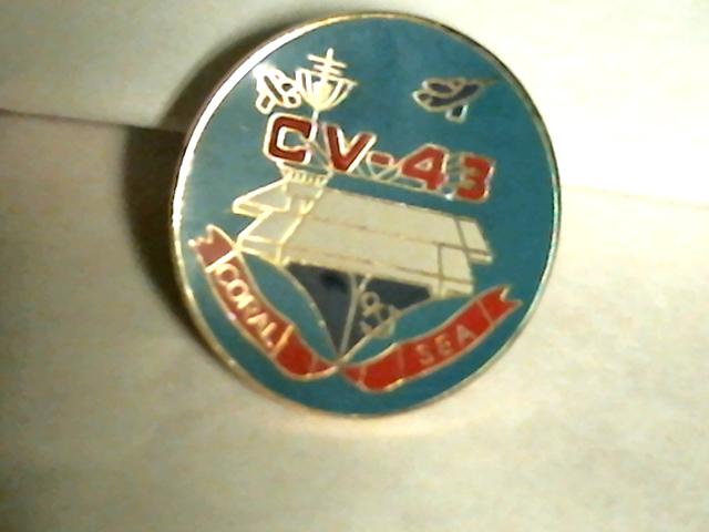 USS Coral Sea Lapel Pin