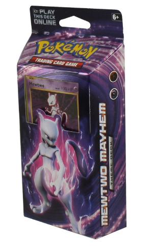 Pokemon TCG XY Evolutions Theme Deck: Mewtwo Mayhem (Sealed) + 2 Booster Packs