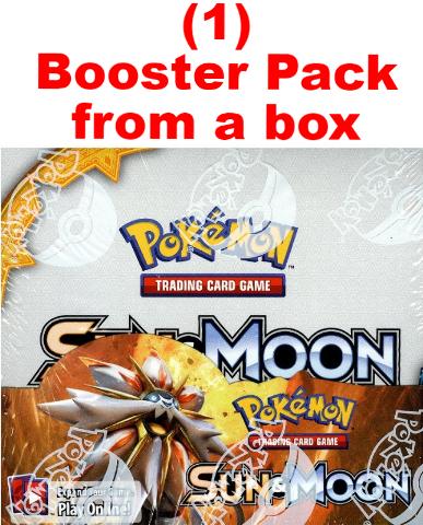 Pokemon TCG XY Sun & Moon Sealed Booster 10 Card Pack (English)(Sealed)(Random)