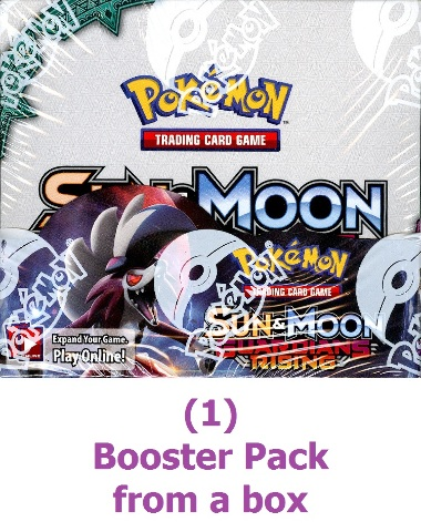Pokemon TCG XY Sun & Moon Guardians Rising Sealed Booster 10 Card Pack (English)