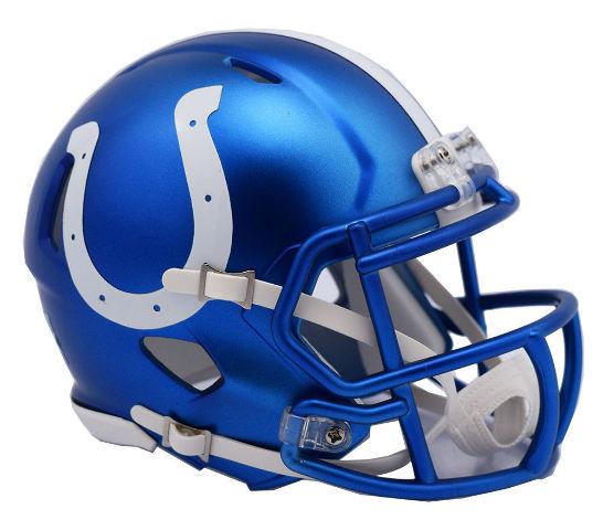 INDIANAPOLIS COLTS 2017 Riddell NFL Blaze Alternate Speed Mini Football Helmet