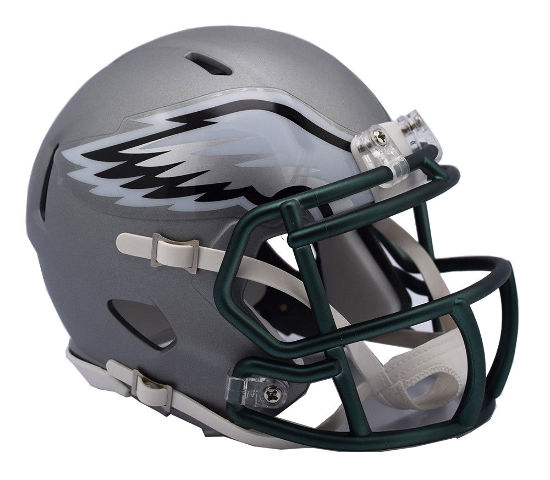 PHILADELPHIA EAGLES 2017 Riddell NFL Blaze Alternate Speed Mini Football Helmet