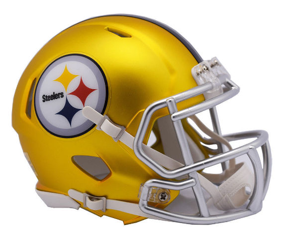 PITTSBURGH STEELERS 2017 Riddell NFL Blaze Alternate Speed Mini Football Helmet