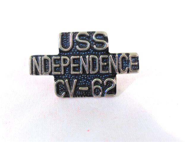 USS Independence CV-62 Ship Name Lapel Pin