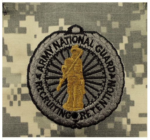 Vanguard ARMY IDENTIFICATION ACU SENIOR ARMY NAT'L GUARD RECRUITING & RETENTION