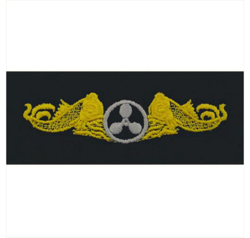 Vanguard NAVY EMBROIDERED BADGE: SUBMARINE ENGINEERING DUTY - COVERALL
