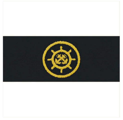 Vanguard NAVY EMBROIDERED BADGE: CRAFTMASTER - EMBROIDERED ON COVERALL