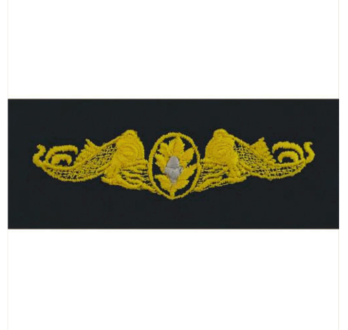 Vanguard NAVY EMBROIDERED BADGE: SURFACE WARFARE MEDICAL - COVERALL