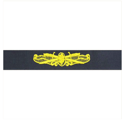 Vanguard NAVY EMBROIDERED BADGE: SURFACE WARFARE MEDICAL SERVICE - COVERALL