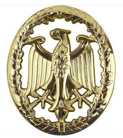 Vanguard GERMAN ARMED FORCES BADGE OF PROFICIENCY - GOLD