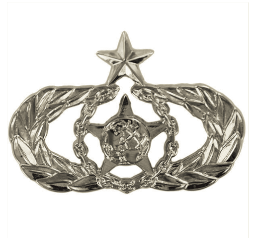 Vanguard AIR FORCE BADGE: SENIOR SAFETY - REGULATION SIZE MIRROR FINISH