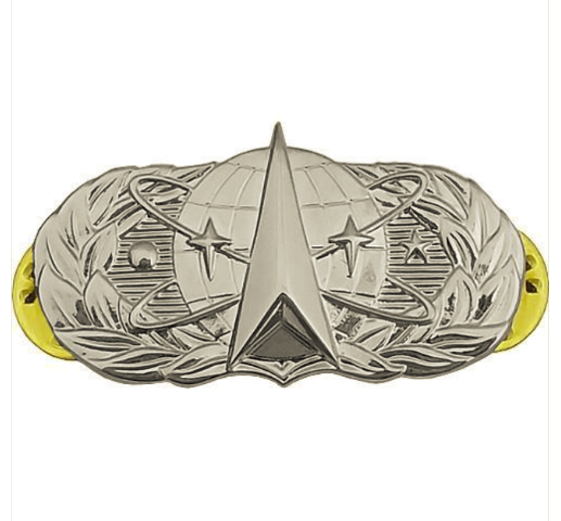 Vanguard AIR FORCE BADGE: SPACE OPERATIONS - MIDSIZE