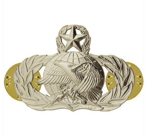 Vanguard AIR FORCE BADGE: SUPPLY FUELS: MASTER - MIDSIZE