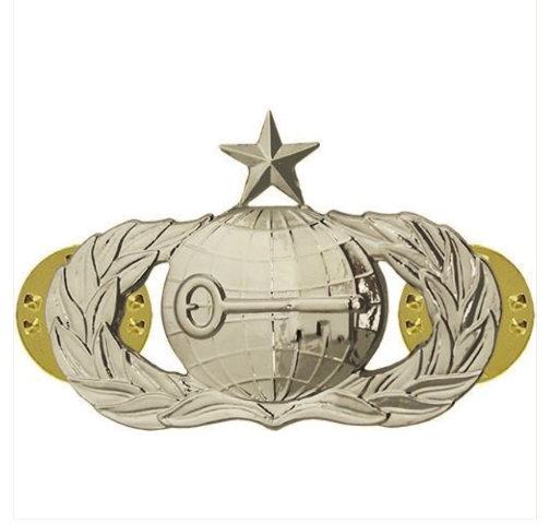 Vanguard AIR FORCE BADGE: INTELLIGENCE: SENIOR - MIDSIZE