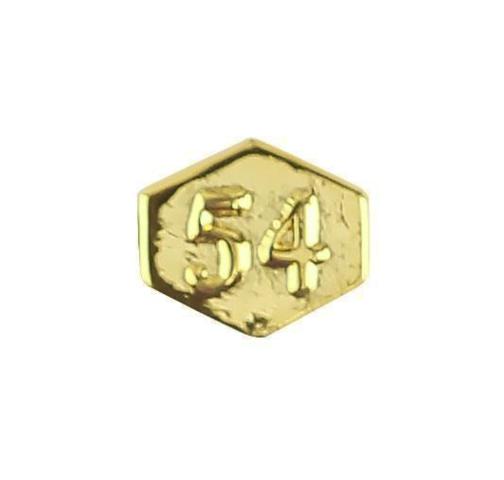 Vanguard ARMY IDENTIFICATION BADGE ATTACHMENT: DIRECTOR 54 - GOLD MIRROR FINISH