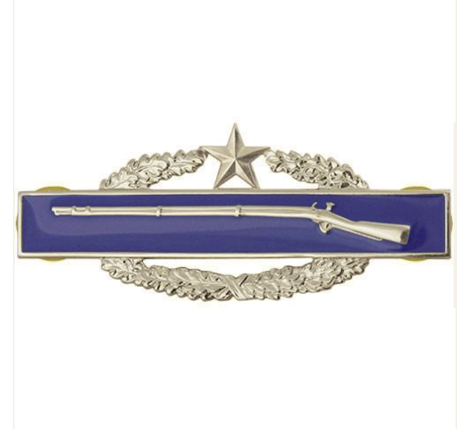 Vanguard ARMY BADGE: COMBAT INFANTRY SECOND AWARD - MIRROR FINISH