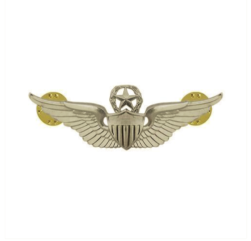 Vanguard ARMY DRESS BADGE: MASTER AVIATOR - MINIATURE, MIRROR FINISH