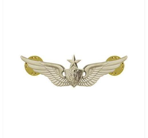 Vanguard ARMY DRESS BADGE: SENIOR AIRCRAFT CREWMAN: AIRCREW - MINIATURE, MIRROR FINISH