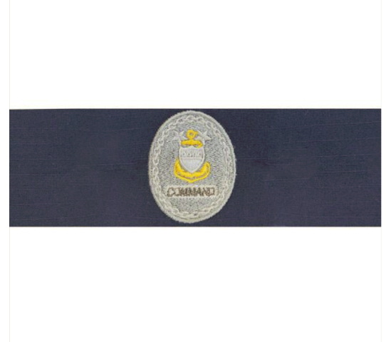 Vanguard COAST GUARD BADGE: ENLISTED ADVISOR E9 COMMAND: RIPSTOP FABRIC