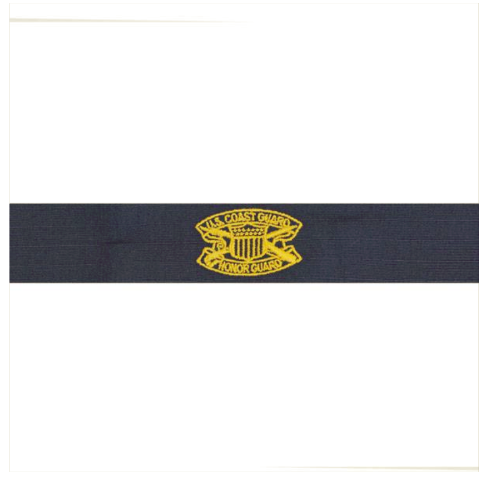 Vanguard COAST GUARD EMBROIDERED BADGE: HONOR GUARD - RIPSTOP FABRIC