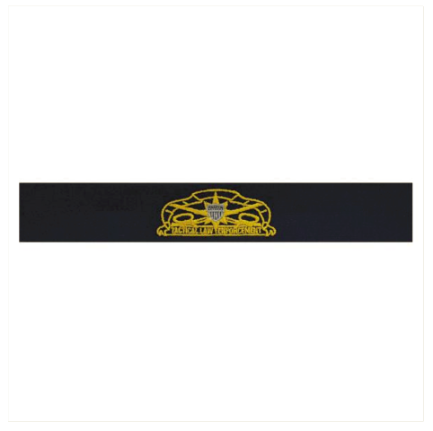 Vanguard COAST GUARD EMBROIDERED BADGE: TACTICAL LAW ENFORCEMENT - RIPSTOP FABRIC