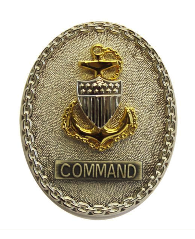 Vanguard COAST GUARD BADGE: ENLISTED ADVISOR E7 COMMAND - REGULATION SIZE