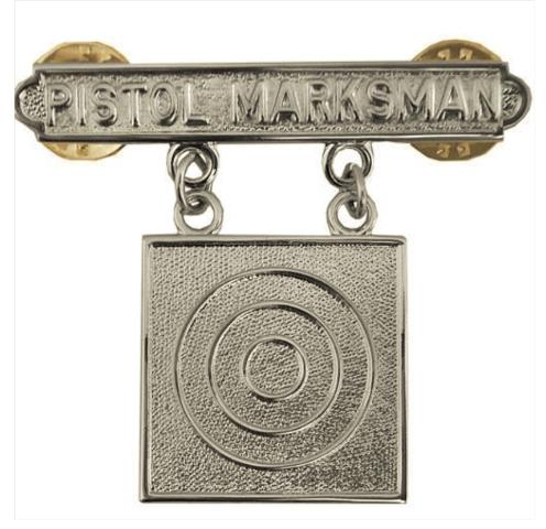 Vanguard MARINE CORPS QUALIFICATION BADGE: PISTOL MARKSMAN