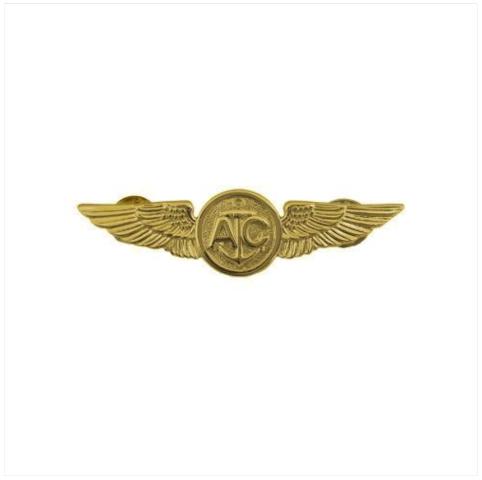 Vanguard BADGE: AIR CREW - MINIATURE, MIRROR FINISH