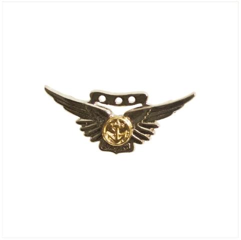 Vanguard BADGE: COMBAT AIRCREW - MINIATURE, MIRROR FINISH