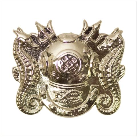 Vanguard NAVY BADGE: MASTER DIVER- MINIATURE, MIRROR FINISH