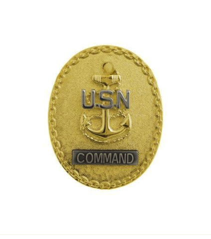 Vanguard NAVY BADGE: ENLISTED ADVISOR E7 COMMAND CPO - MINIATURE
