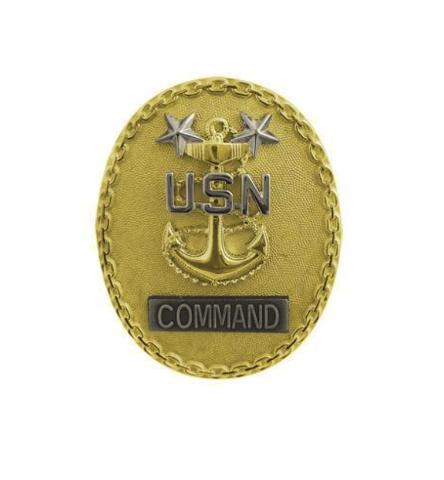 Vanguard NAVY BADGE: MASTER ENLISTED ADVISOR E9 COMMAND CPO - MINIATURE