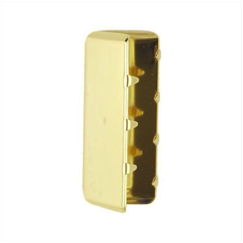 Vanguard NAVY BELT TIP: 24K GOLD - MALE