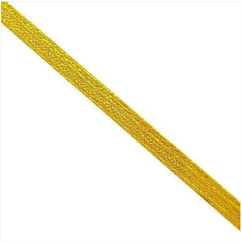 Vanguard SYNTHETIC LACE: GOLD - 1/4 INCH