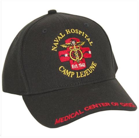 Vanguard NAVY BALL CAP: NAVAL HOSPITAL CAMP LEJEUNE