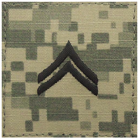 Vanguard ARMY EMBROIDERED ACU RANK INSIGNIA: CORPORAL
