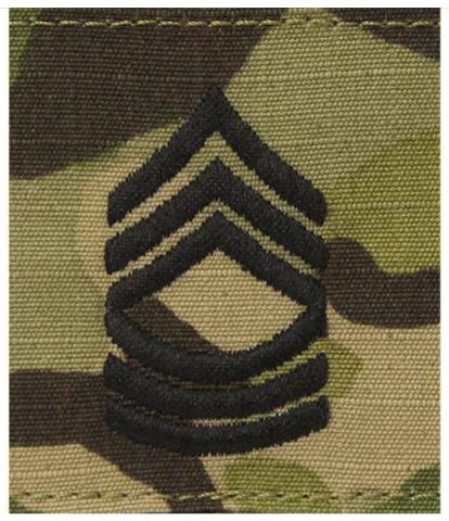 Vanguard ARMY GORTEX RANK: MASTER SERGEANT - OCP JACKET TAB