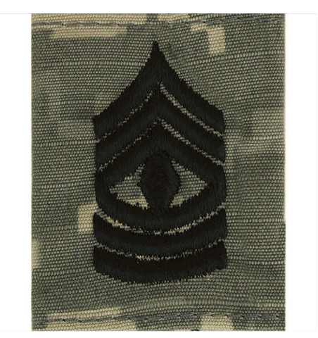 Vanguard ARMY GORTEX RANK: FIRST SERGEANT - ACU JACKET