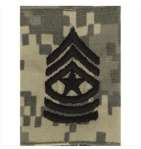 Vanguard ARMY GORTEX RANK: SERGEANT MAJOR - ACU JACKET